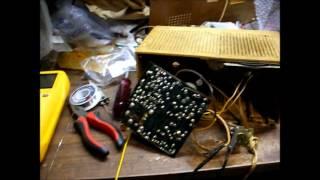 Transistor repair in a crusty Philco-Ford radio
