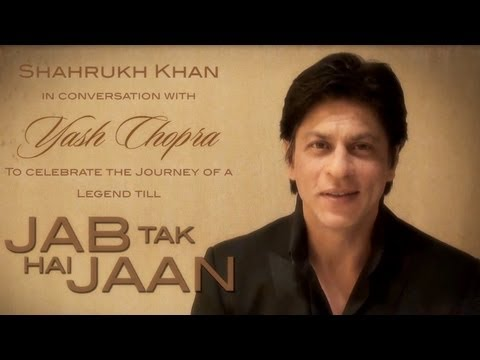 Shah Rukh Khan Invites You To The Conversation With YASH CHOPRA