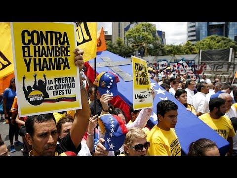 Venezuela: Protest gegen Hunger - Unruhen wegen Lebensmittelknappheit