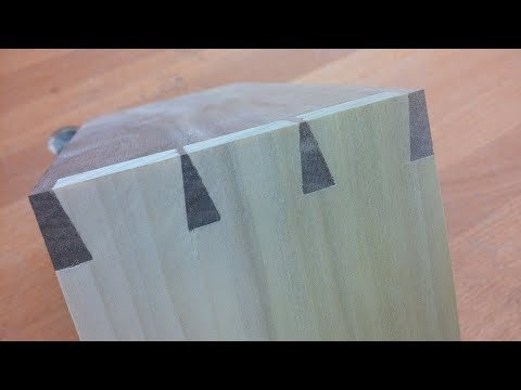 Rob Cosman's 3 1/2 minute Tails 1st dovetail