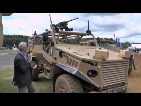 Defence Vehicle Dynamics 2014 – General Dynamics Ocelot (O) (WMiK) variant