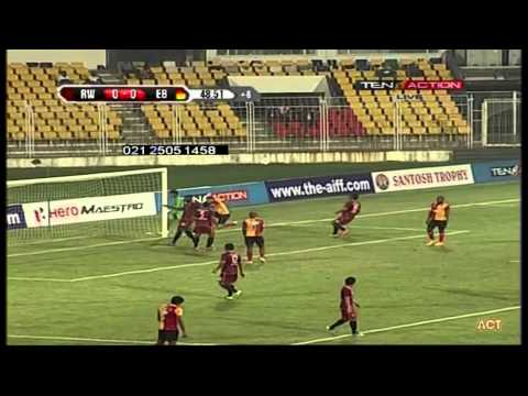 Hero Fed Cup 2014-2015 Kingfisher East Bengal vs Royal Wahingdoh FC Match Highlights 31-12-2014