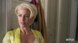 Gillian Anderson & Asa Butterfield - Sex Education Trailer