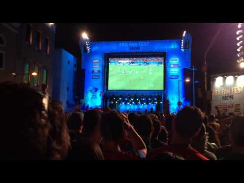 USA-Portugal, Fan Fest Recife, Silvestre Varela Goal