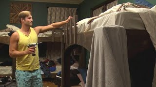 How to Avoid Falling Off a Bunk Bed
