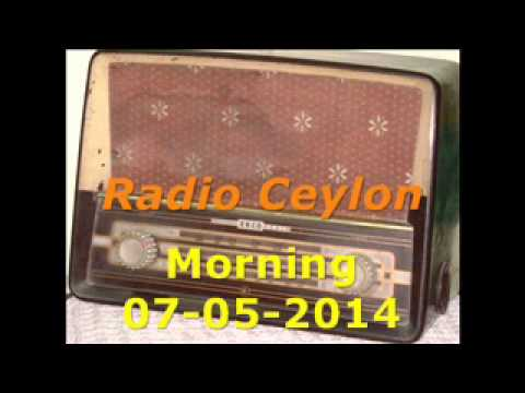 Radio Ceylon 07-05-2014~Wednesday Morning~04 Film Sangeet-2
