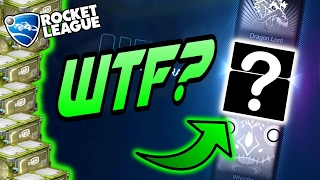 WEIRDEST Rocket League Crate Opening EVER! (Rocket League CC4 Unboxing/Trade Ups)