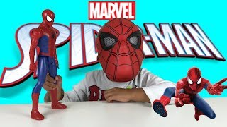 SUPER FUN TOY UNBOXING! SUPER HERO SPIDERMAN TOYS | MARVEL TOY | TWO MUCH FUN