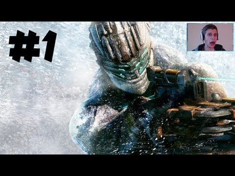 Dead Space 3 – Gameplay Walkthrough – Part 1 – SCARY FACECAM!! – Prologue/Chapter 1 (DS3 HD)