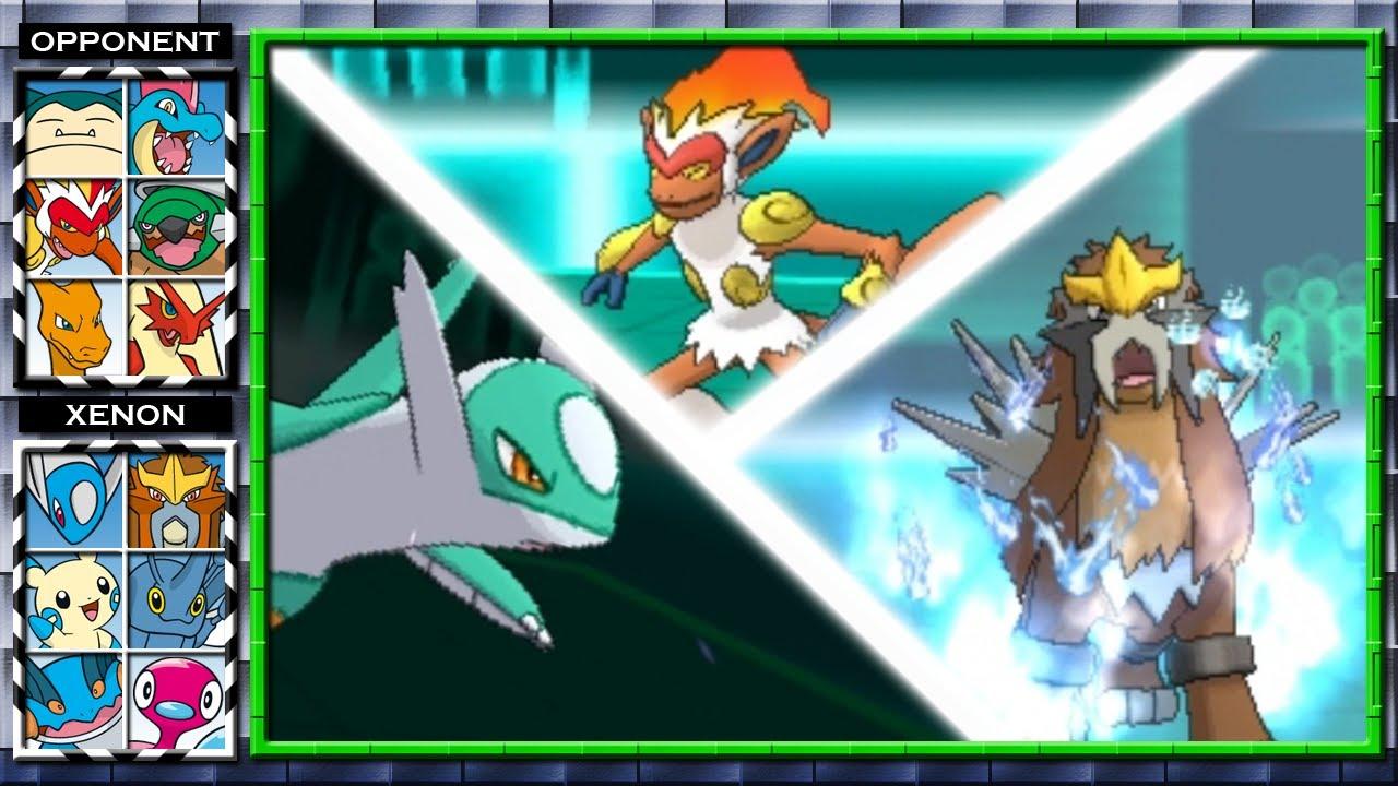 Shiny Latios & Sacred Fire Entei! (Pokemon X and Y Wifi ...