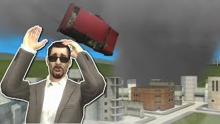 NATURAL DISASTERS SURVIVAL! - Garry's Mod Gameplay - Gmod Zombie Tornado Survival