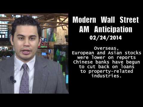 Modern Wall Street AM Anticipation: Futures rise ahead of data