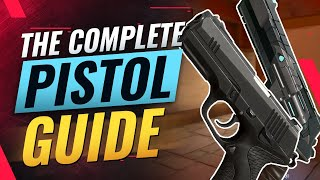 The COMPLETE Pistol Round Guide - Best BUYS For EVERY AGENT + Movement & Aim Tips - Valorant