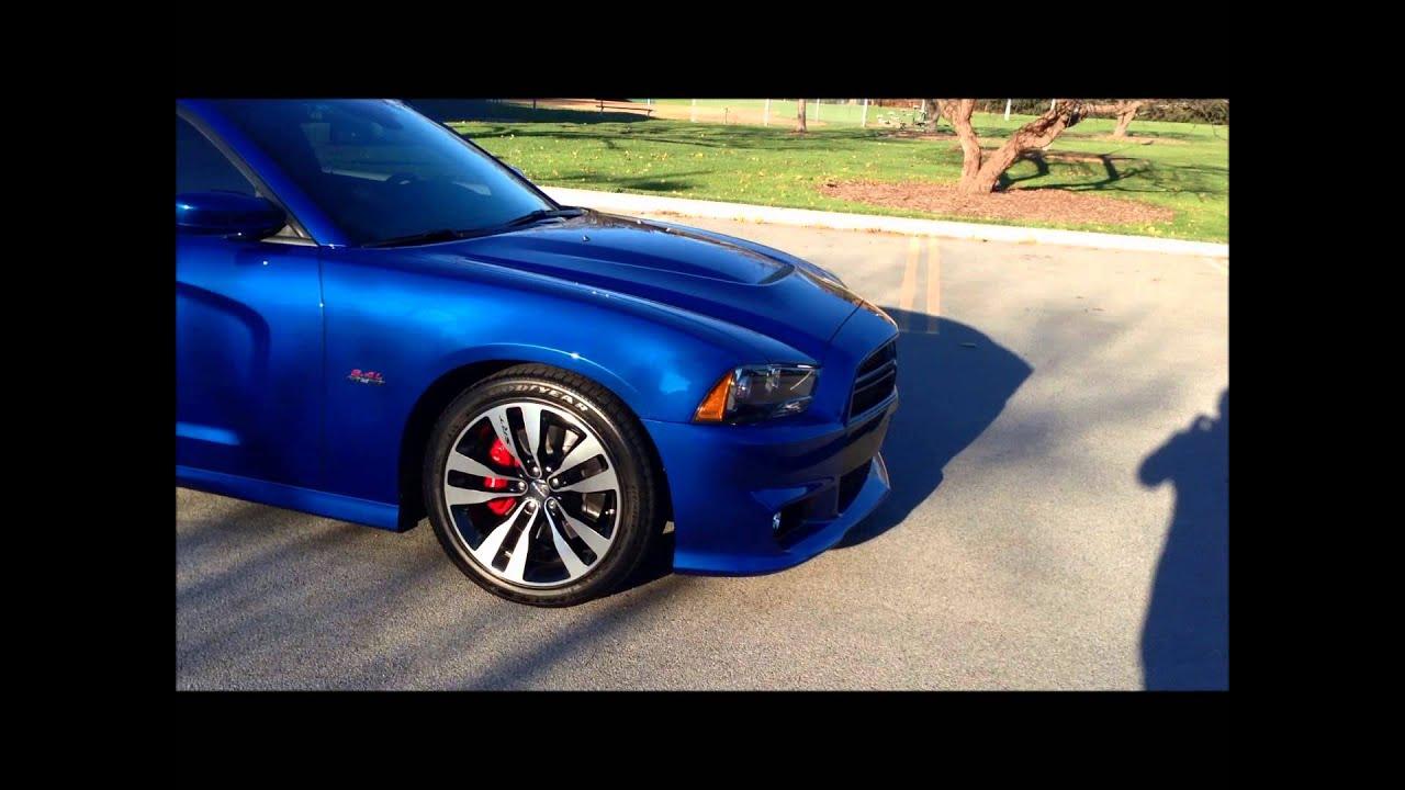 Srt Dodge Dart >> 2012 Charger SRT8 Blue Streak Pearl - YouTube