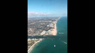 Fort Lauderdale Take-Off in Boeing 737-700