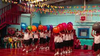 Dance Exercise (RED TEAM)- Riyadh International School KSA