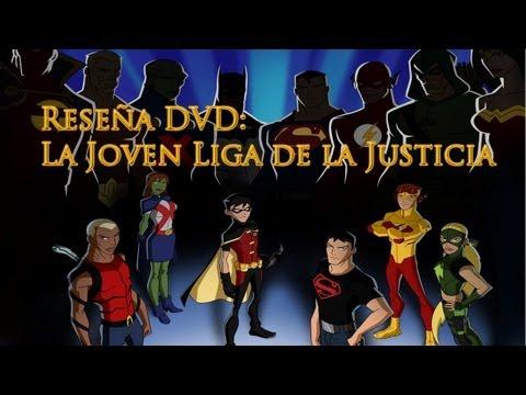 Reseña DVD: La joven liga de la justicia