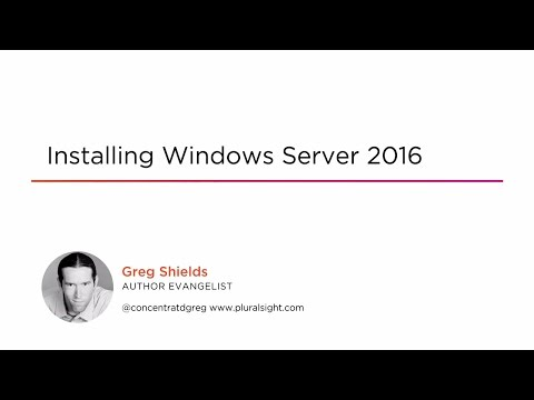 Course Preview: Installing Windows Server 2016
