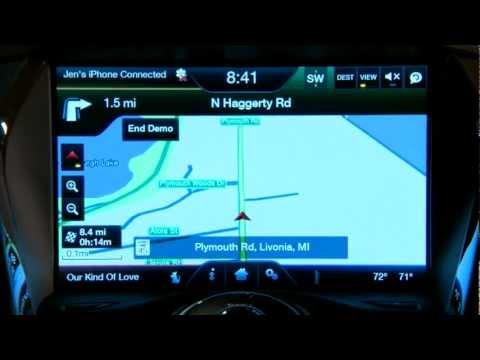 Clarksville Ford 2013 MyFord Touch Navigation Demo - Nashville Ford - Clarksville TN