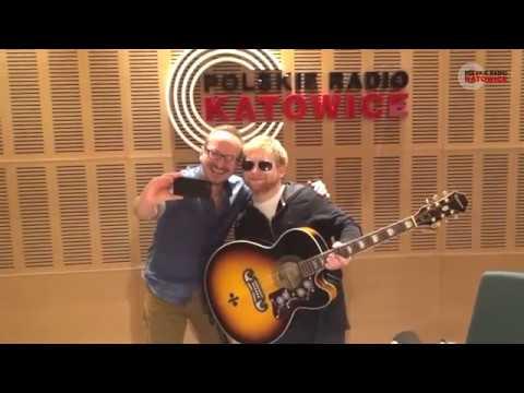 Ed Sheeran W Polsce! Wizyta W Katowicach. Radio Katowice, 1.04.2017.