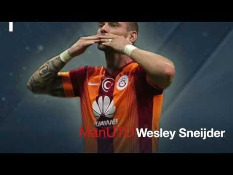 Transfer Deadline Day - 11: 49 - Wesley Sneijder to Manchester United