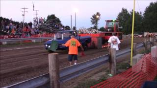Waldron Hot Zone Truck Pull 5800 lbs 2 wheel drive 2016