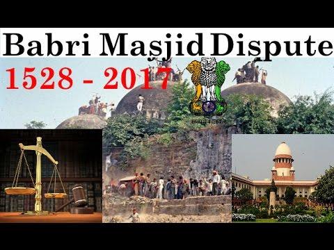 "essay on babri masjid dispute Home essays ram mandir and babri masjid ram mandir and babri masjid issue ayodhya dispute at a glance: the sacred masjid essayphilosophy ""a."