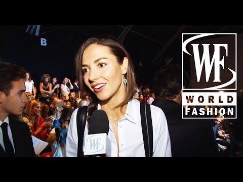 Front Row Trussardi Spring-Summer 2015 Milan Fashion Week