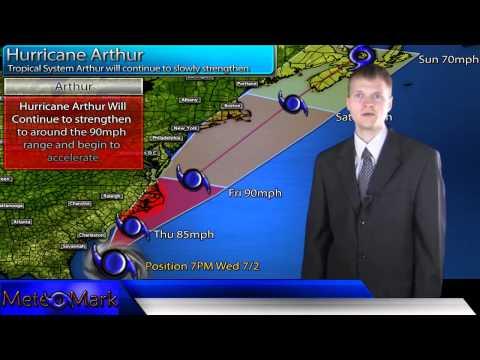 HURRICANE ARTHUR TAKING AIM AT FEMA REGION III - NEWS247