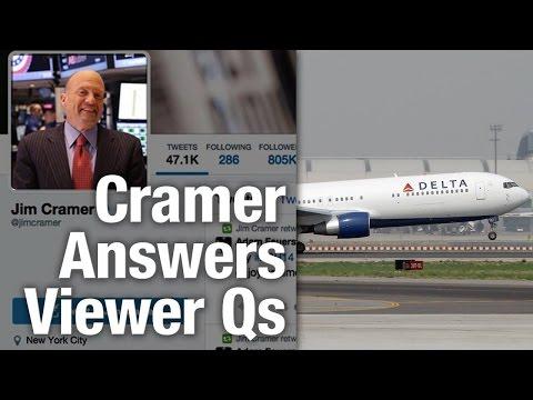 Jim Cramer Says Don't Dump Airline Stocks Now, Trim Oil