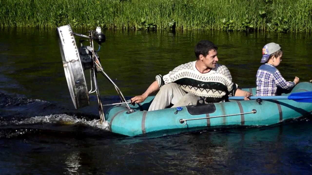 Самодельный электромотор на лодку