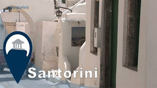 Santorini | Megalochori village