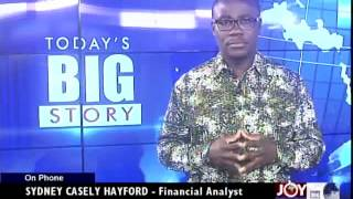 Ghana's Economic Equeeze - Today's Big Story on Joy News (1-8-14)