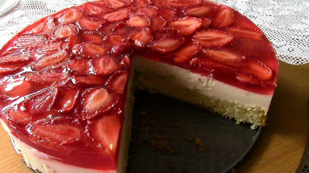 Бисквитный торт с желейной прослойкой рецепт пошагово