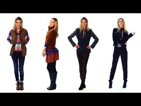 How to Wear Flannel | Winter Fashion | Currently Trending
