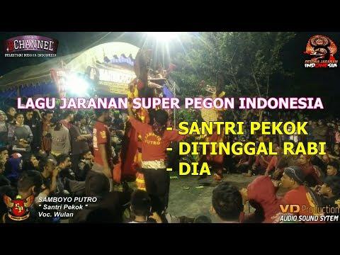 Samboyo Putro Lagu Jaranan Santri Pekok, Ditinggal Rabi, Dia Live Bleton 2017