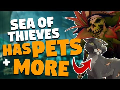 Sea Of Thieves UPCOMING FEATURES: Enemies, Pets, Events & More!