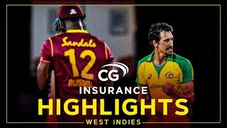 Highlights | West Indies v Australia | Marsh Stars as Aus Hit Back! | 4th CG Insurance T20I 2021