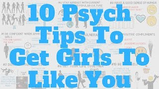 How To Get Girls To Like You (Psychology)