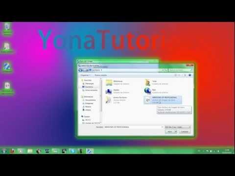 Tutorial Como grabar imagen .iso LiveCD en CD o DVD (Windows 7/8/XP/Vista y/o Linux)