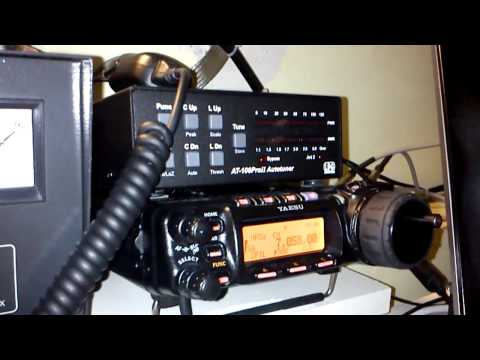 Yaesu FT857D with LDG AT100ProII Autotuner