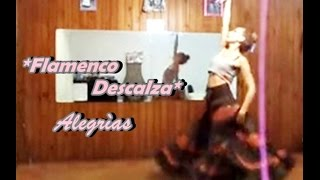 FLAMENCO DESCALZA ALEGRIAS SPANISH DANCE IMPROVISACIÒN KYÀ-RÀ MAJARIS