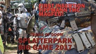 Splatterpark Paintball Big Spring Game 2017 Tippmann TMC Magfed Trails of Doom