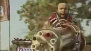 The new Mr T Snickers commercial