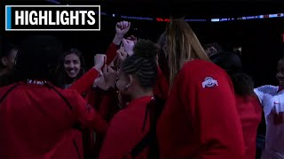 Highlights: Louisville at Ohio State | B1G Women's Basketball | Dec. 5, 2019