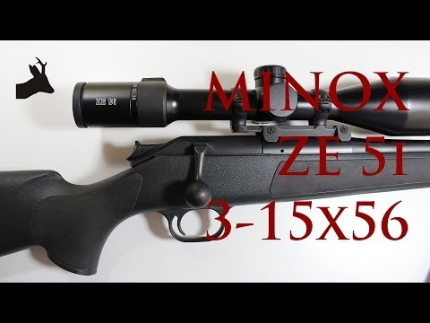 MINOX ZE5i 3 15x56 rifle scope with illuminated reticule unboxing   initial impression  RoeStalker