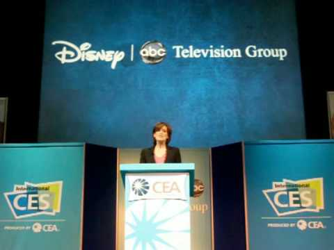 Disney-ABC's Anne Sweeney at the 2009 Consumer Electronics Show - Part 4 Video