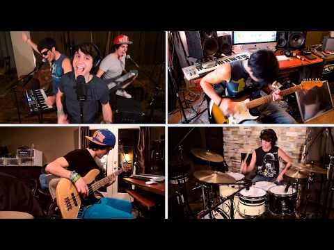 BRUNO MARS - Locked Out Of Heaven (DMF cover) ft. Jose & Ricky Ficarelli