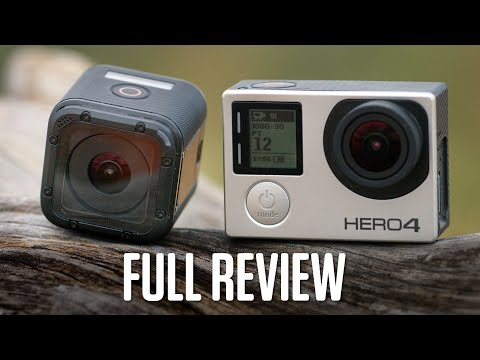 MINI GOPRO! HERO4 Session: Full Review. Tests. Comparison Footage (WIRED)