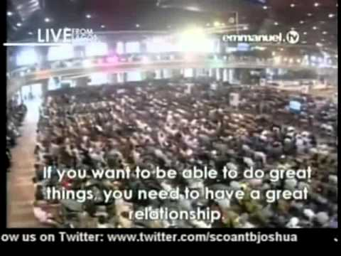 Tb Joshua. Sermon 20-01-2013 video